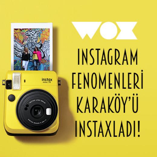 Instagram fenomenleri Karaköy'ü Instaxladı