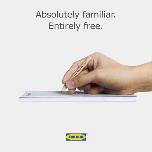 IKEA Apple'a sataşmaya devam ediyor