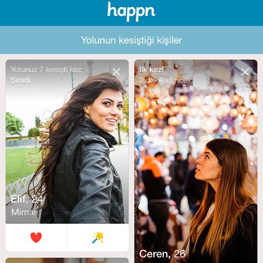 Tanışma uygulaması Happn'ın Türkiye'deki ortağı Grayling