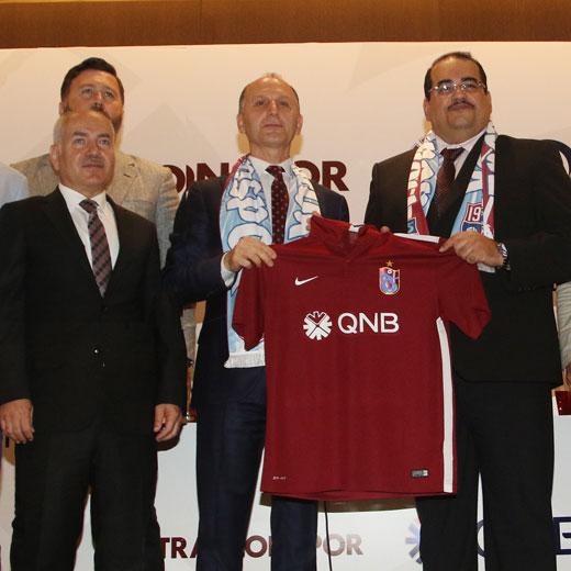 QNB ve Trabzonspor arasında sponsorluk anlaşması imzalandı