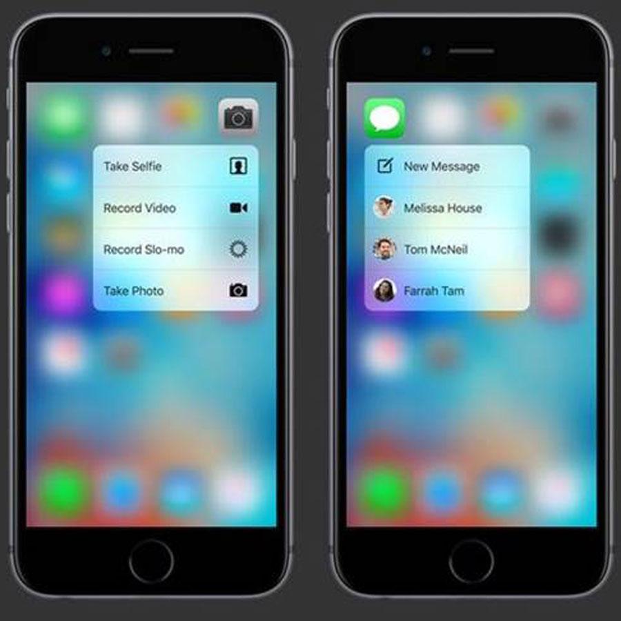 Apple 3D Touch'ı reklamlarla tanıtıyor