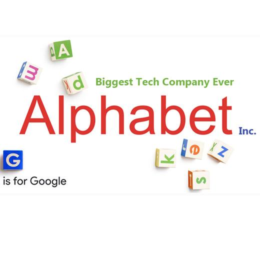 Google resmen Alphabet oldu