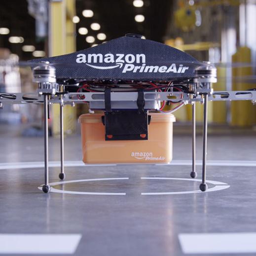 Amazon, drone'la teslimat denemelerine başladı