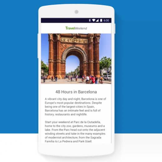 Google'dan mobil internet için AMP projesi