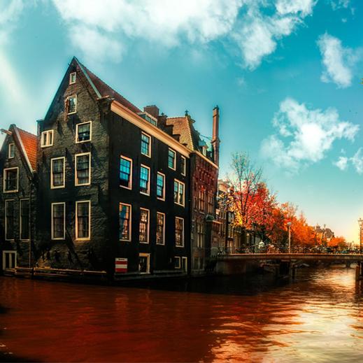 Türkiye'nin yeni yıl tercihi: Amsterdam
