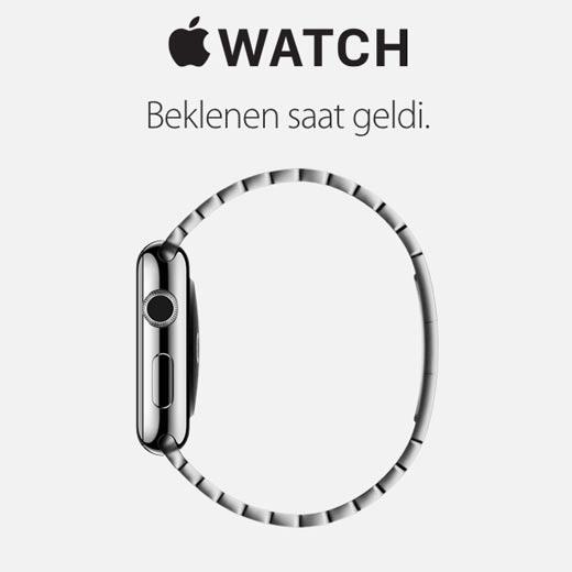 Beklenen Apple Watch Türkiye'de satışa sunuldu