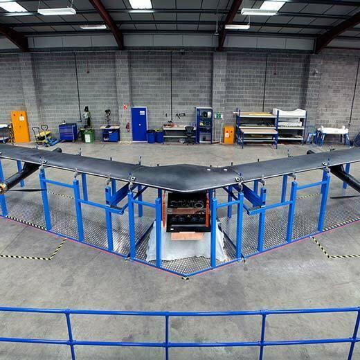 Facebook'un internet ulaştıracak ilk drone'u tamamlandı