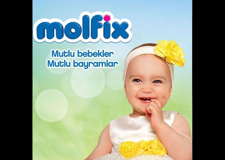 Molfix'le mutlu bebekler mutlu bayramlar!