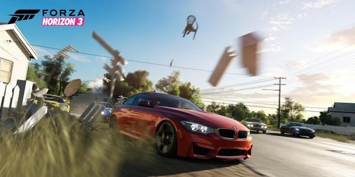 Forza Horizon 3 Xbox'da
