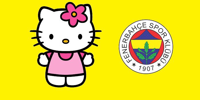 Fenerbahçe Hello Kitty ile işbirliği yaptı, sosyal medya yıkıldı…