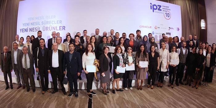 İPZ Anadolu Ankara'nın öncü sektör ve markalarını ödüllendirdi...