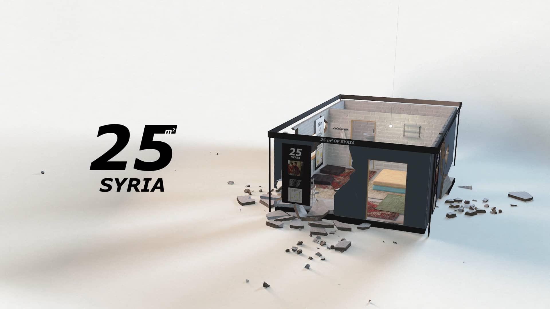IKEA'dan 25 metrekarede Suriye gerçeği...