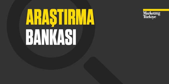 Türkiye'nin İlk Pazar Araştırmaları Bankası yeni araştırmalarla zenginleşiyor...