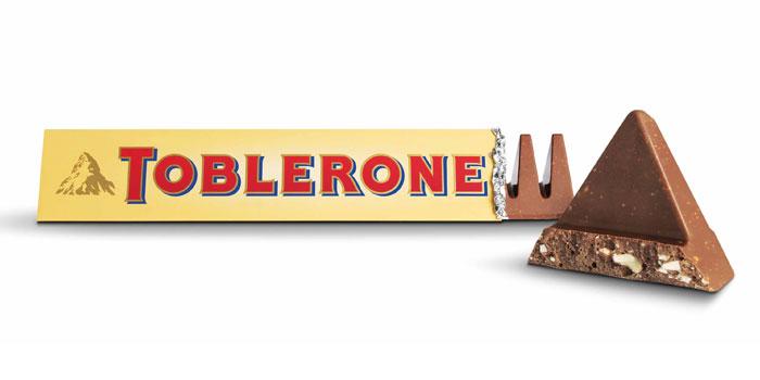 Toblerone'un değişen şekli İngiltere'yi ayağa kaldırdı!