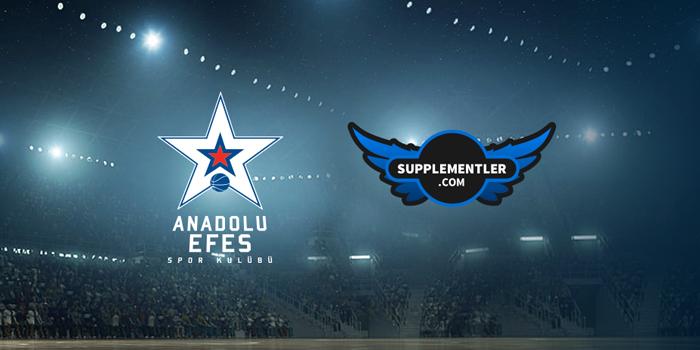 Anadolu Efes SK ve Supplementler.com'dan anlaşma
