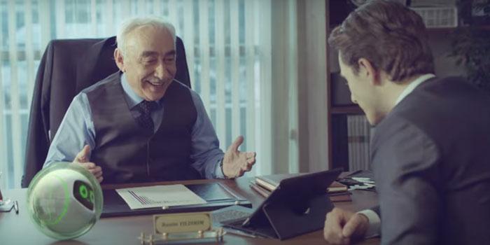 Garanti'nin yeni reklam filminde Şener Şen başrolde…