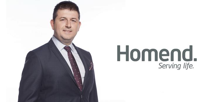 Homend'in yeni Genel Müdürü Volkan Çevik oldu