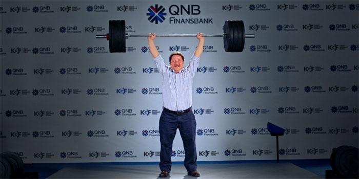 QNB Finansbank'tan yeni reklam filmi: Halterci KOBİ'LER