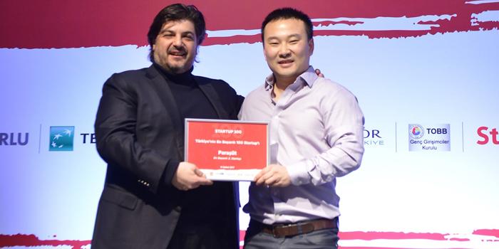 Paraşüt yeniden Türkiye'nin en başarılı startup'ları listesinde