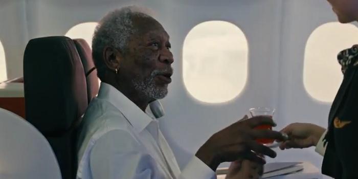 İşte merakla beklenen Morgan Freeman'lı THY reklamı...