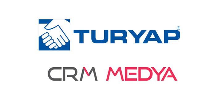 CRM Medya TURYAP'ın dijital partneri oldu...