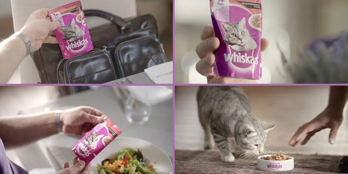 Whiskas'tan gurmesi bol kampanya