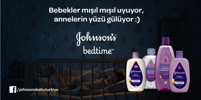Bebeklerin İsyanına Annelerin Cevabı: Johnson's Bedtime serisi