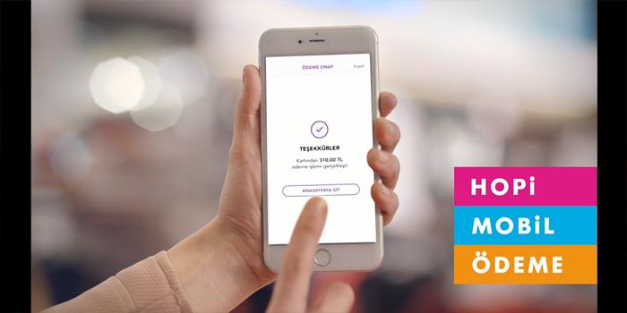 Hopi mobil ödemeyle alışverişte yeni bir devir başlıyor