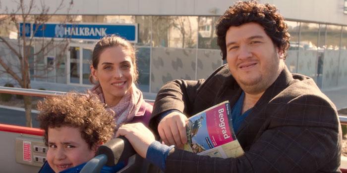 Halkbank, Şahan Gökbakar'lı reklam filmini Belgrad'da çekti