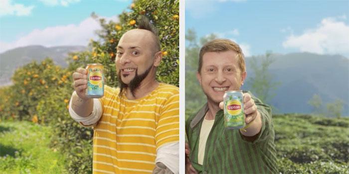 Lipton Ice Tea'nin filminde iki ünlü film bir büyük iddia...