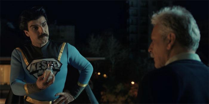 Aktif Bank'ın süper kahramanı: Keşke Man...