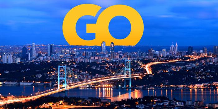 """Doğadan """"Golin İstanbul"""" dedi"""