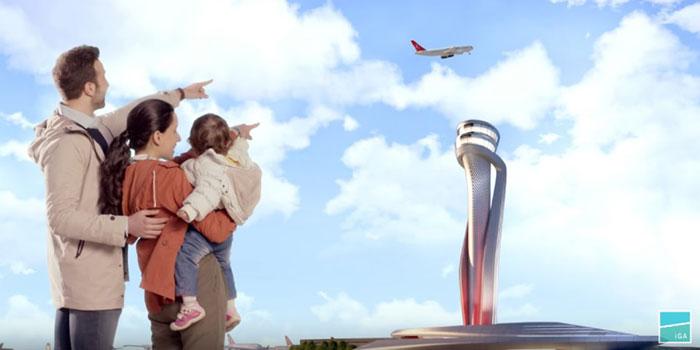 İstanbul Yeni Havalimanı için yeni reklam filmi