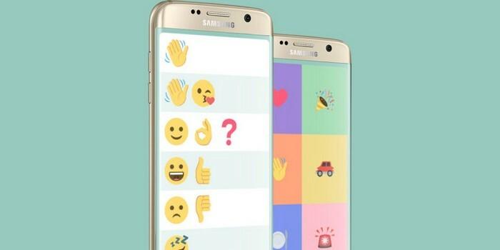 Samsung'dan dil bozuklukları için emoji tabanlı sohbet uygulaması