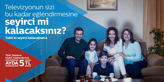 Türk Telekom TİVİBU'nun yeni reklam filmi yayınlandı