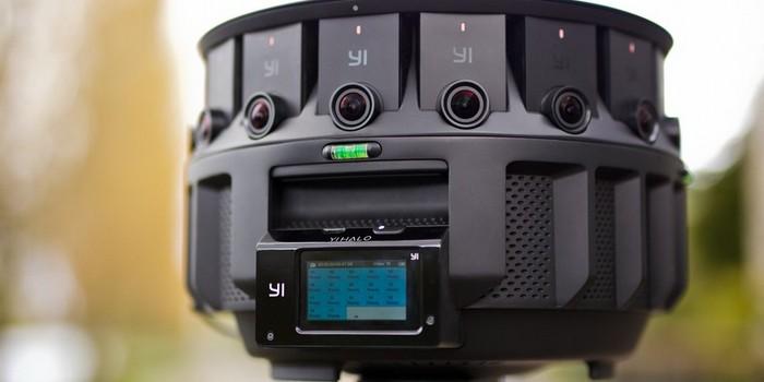 Google'dan 17 lensli sanal gerçeklik kamerası