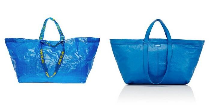 IKEA ve Balenciaga'nın mavi el çantası kapışması sürüyor