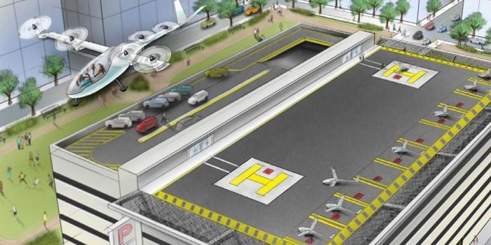 Uber'ın bir sonraki adımı uçan taksiler olacak