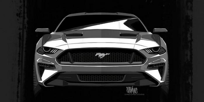 2018 model Ford Mustang Darth Vader'a mı benziyor?