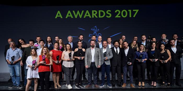 A Awards 2017 ödülleri sahiplerini buldu