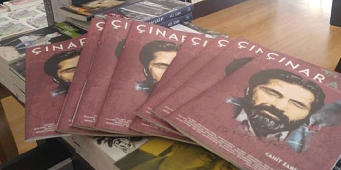 Edebiyat dergilerine bir yenisi eklendi: Çınaraltı