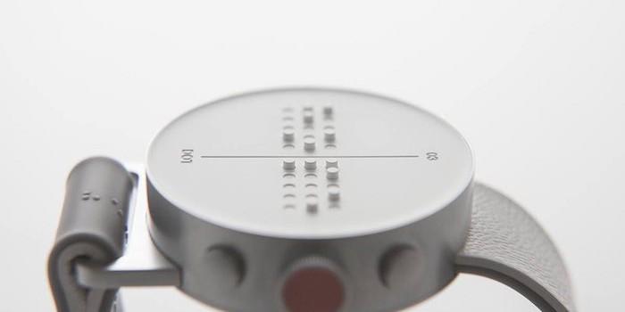 Görme engelliler için tasarlanan braille alfabeli saat: Dot