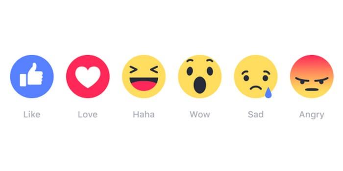 Facebook Reaksiyonları yorumlarda da kullanılır hale geliyor