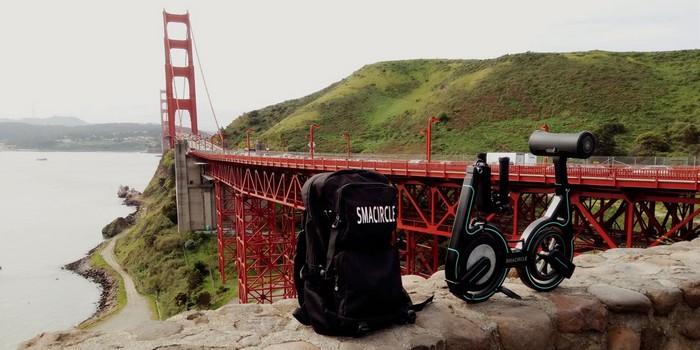 Sırt çantasına sığan katlanabilir elektrikli bisiklet: Smarcircle S1