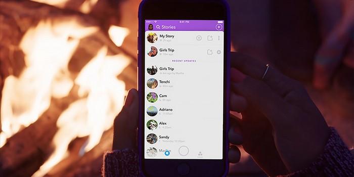 """Snapchat'e """"İsteğe Uyarlanmış Hikayeler"""" güncellemesi geldi"""