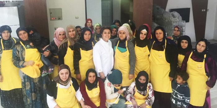 Mülteci kadınlar Bask Dünya Aşçılık Ödülleri'nde finale kaldı