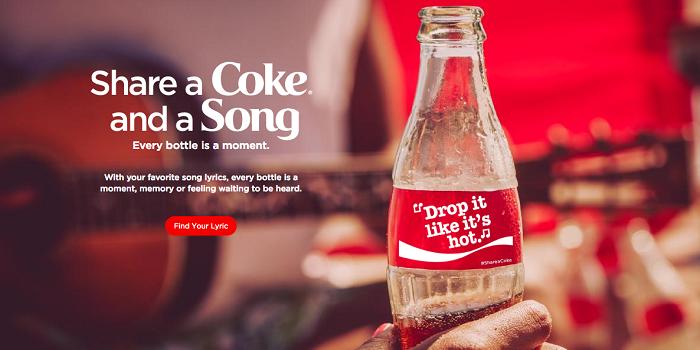 Coca-Cola isme özel 1000 şarkı üretti