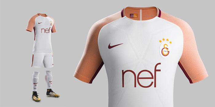 Nike, Galatasaray'ın yeni dış saha formasını tanıttı