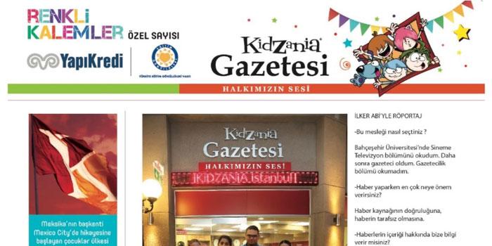 Geleceğin gazetecileri Renkli Kalemler KidZania özel sayısını çıkardı