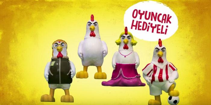 """Popeyes, """"terbiyesiz tavuk"""" serisine devam ediyor"""
